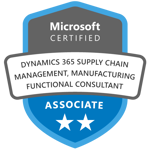 Exam MB-320: Microsoft Dynamics 365 Supply Chain Management, Manufacturing