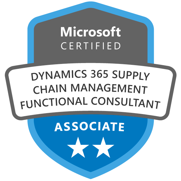 Dynamics 365 Supply Chain Functional Consultant